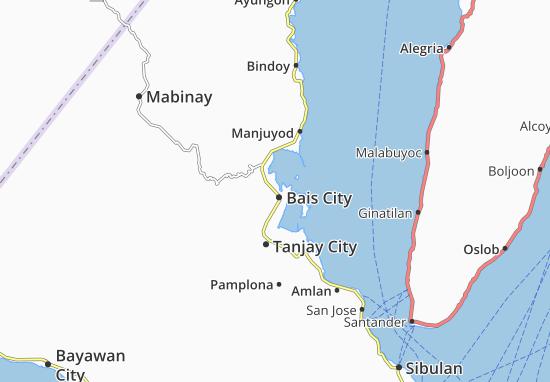 Carte-Plan Bais City