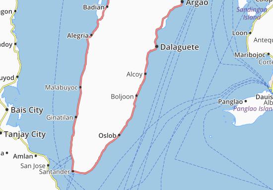 Mappe-Piantine Boljoon
