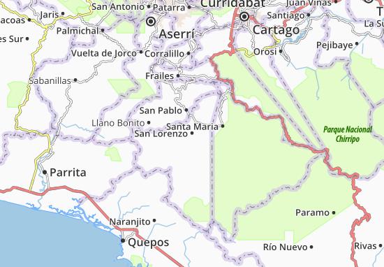 Mapas-Planos San Lorenzo