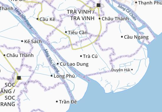 Trà Cú Map
