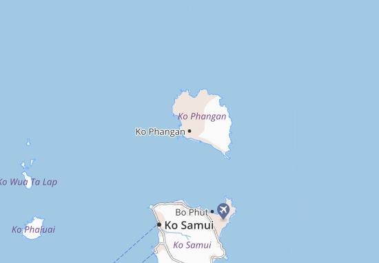 Ko Phangan Map
