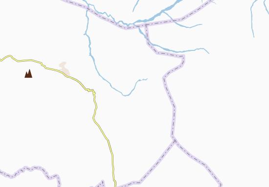 Carte-Plan Arasho