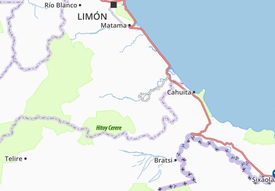 Valle de La Estrella Map