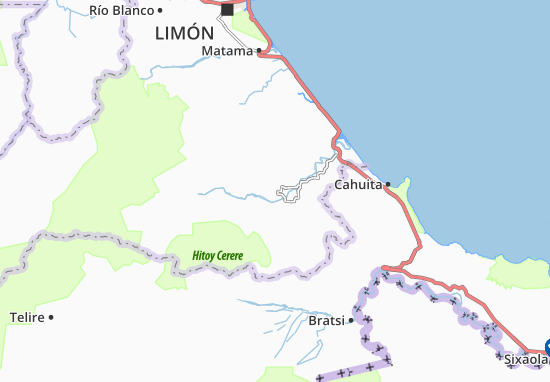 Mappe-Piantine Valle de La Estrella
