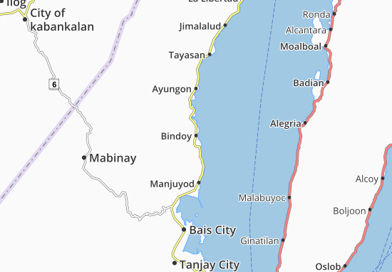Mappe-Piantine Bindoy
