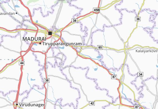 Tiruppuvanam Map