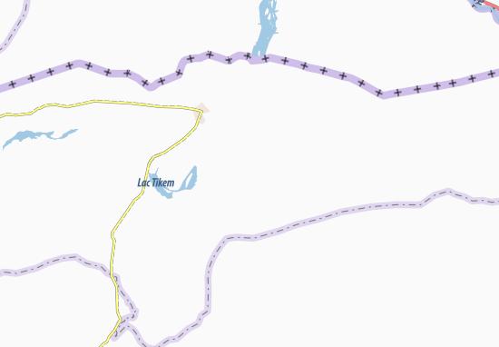 Carte-Plan Gaouyan Mitna