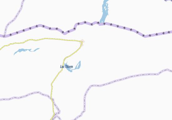 Carte-Plan Goubousiya