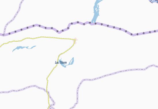 Carte-Plan Kamarkebe