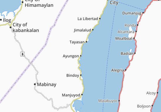 Mappe-Piantine Ayungon