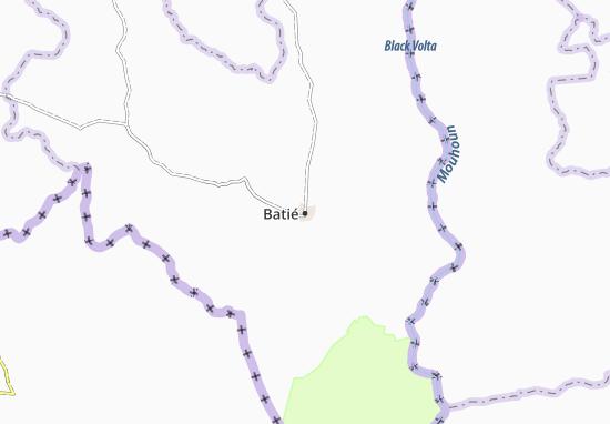 Batié Map