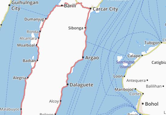 Mappe-Piantine Argao