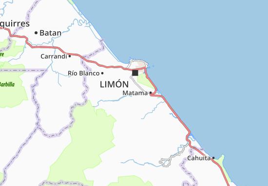 Kaart Plattegrond Bomba