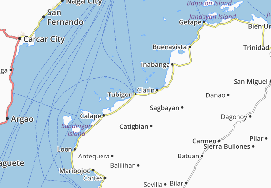 Mappe-Piantine Tubigon