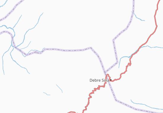Carte-Plan Sela Dingay