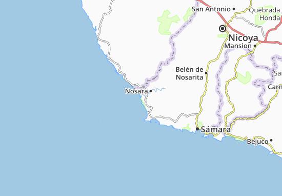 Mappe-Piantine Boca del Nosara
