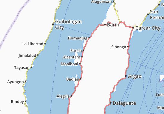 Carte-Plan Alcantara