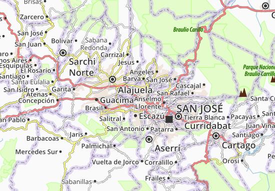 Ulloa Map