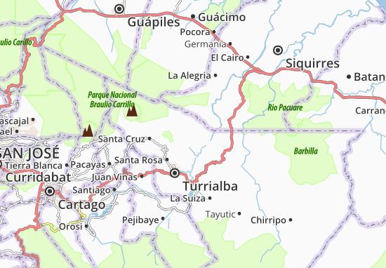 Mappe-Piantine Santa Teresita