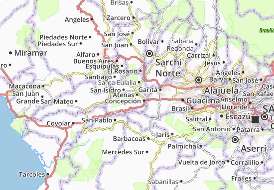 Mapas-Planos Atenas