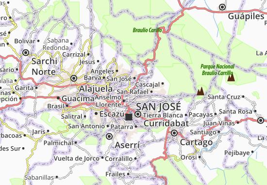La Trinidad Map: Detailed maps for the city of La Trinidad ...