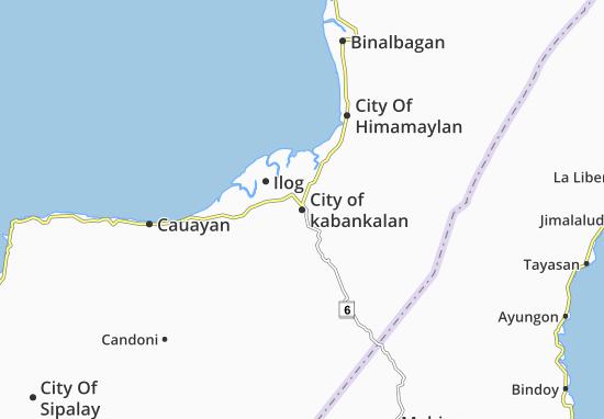 Mappe-Piantine City of kabankalan