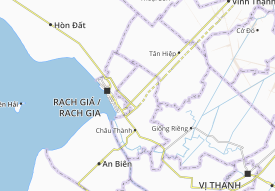 Mong Thọ B Map