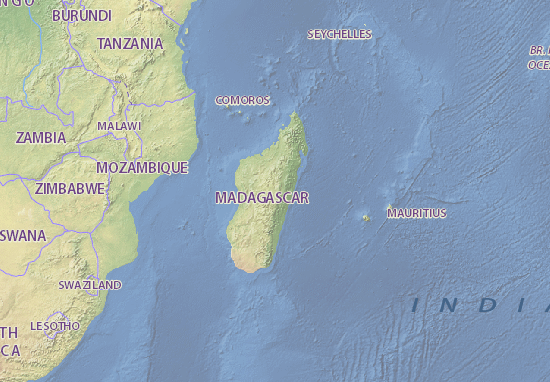 Carte Madagascar Mantasoa.Map Of Madagascar Michelin Madagascar Map Viamichelin