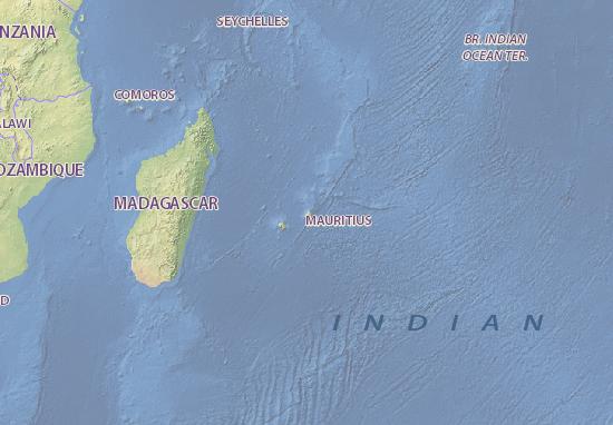 Map Of Mauritius Michelin Mauritius Map ViaMichelin - Detailed map of mauritius