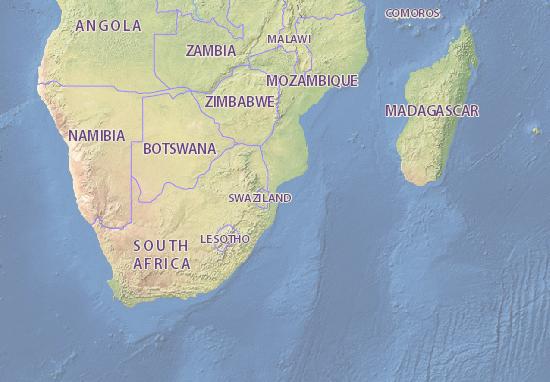 Carte-Plan Moçambique