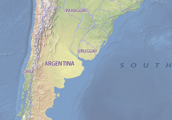 Map of Uruguay - Michelin Uruguay map - ViaMichelin