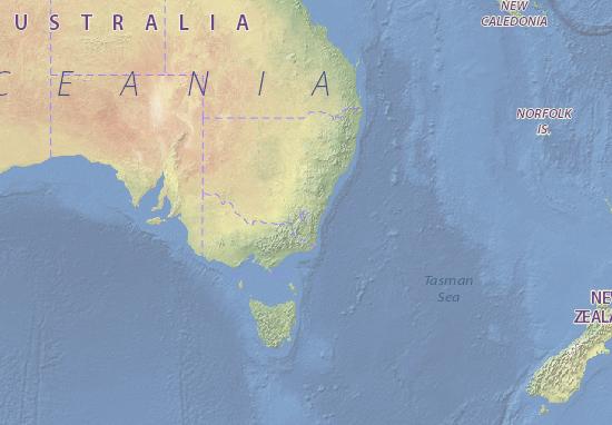 Carte-Plan Australia