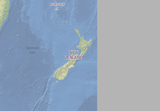 Detailed Map Of New Zealand.Map Of New Zealand Michelin New Zealand Map Viamichelin