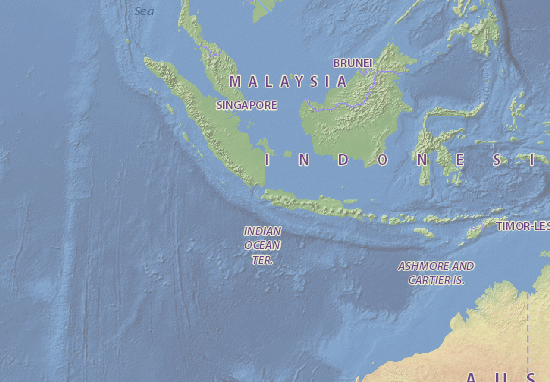 Kaart Plattegrond Indonesia