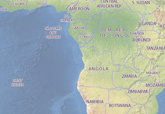 Carte-Plan Angola