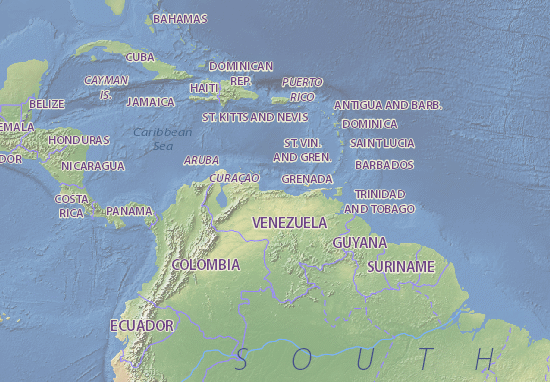Map Of Venezuela Michelin Venezuela Map ViaMichelin - Caracas on world map