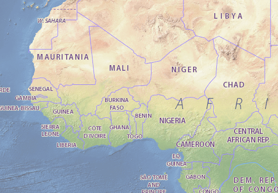 Niger Map: Detailed maps for the city of Niger - ViaMichelin
