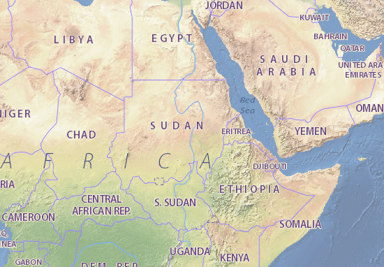 Mappe-Piantine As-Sudan