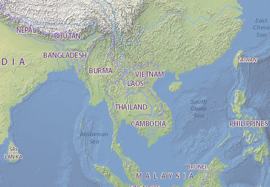 Mapas-Planos Laos