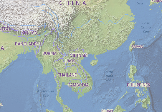 Việt Nam Map