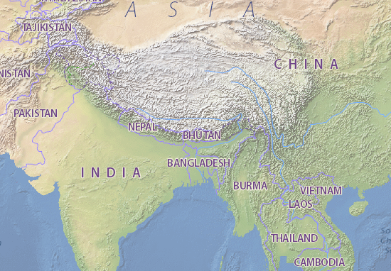 Bhutan Map: Detailed maps for the city of Bhutan - ViaMichelin