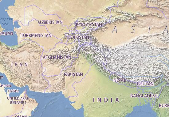 Mapas-Planos Pakistan