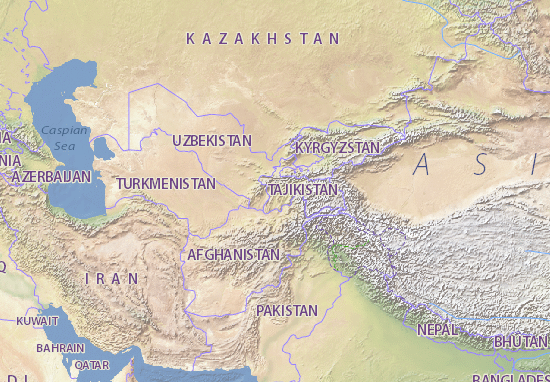 Mapas-Planos Tojikiston