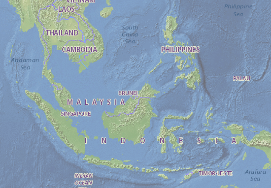 Brunei Map: Detailed maps for the city of Brunei - ViaMichelin
