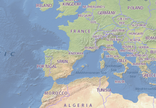 andorra mapa Mapa Andorra   plano Andorra   ViaMichelin andorra mapa