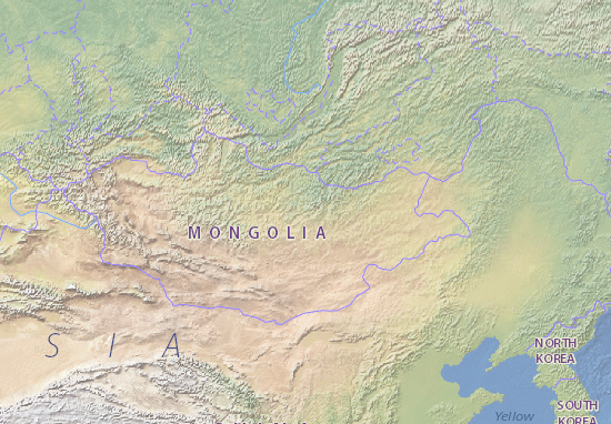 Carte-Plan Mongol Uls