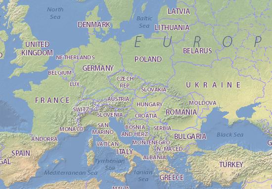 eslovaquia mapa Mapa Eslovaquia   plano Eslovaquia   ViaMichelin eslovaquia mapa