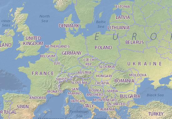 Prag Karte Tschechien.Karte Stadtplan Tschechien Viamichelin