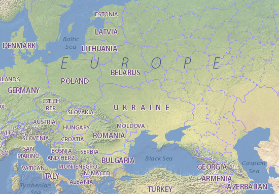 Map Of Ukraine Michelin Ukraine Map ViaMichelin - Map of ukraine