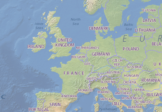Map Of France N Italy.Belgium Map Maps Interactive Maps Viamichelin